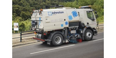 Johnston Sweepers - Model VT651 - Truck Mounted Road Sweeper