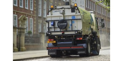Johnston Sweepers - Model VS651 - Truck Mounted Road Sweeper