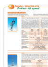 Air speed and rotation sensors for Babuc M/A Brochure (PDF 64 KB)