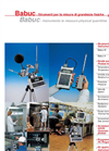 BabucM/A Multiple data acquisition system Brochure (PDF 256 KB)
