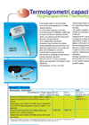 Capacitive thermohygrometers Brochure (PDF 140 KB)