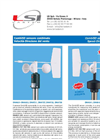 Wind Sensors: Combined wind speed and direction sensors Brochure (PDF 92 KB)