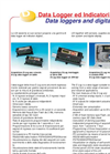 Data loggers and digital display Brochure (PDF 87 KB)