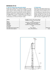 Meteorological tower (PDF 61 KB)