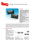 Model E-Log - Environmental Data Logger Brochure