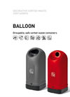 Stylish Sorted-Waste Collection / Balloon Brochure