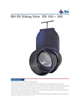 RIA GV - Model DN 100-300 - Sliding Valve - Brochure