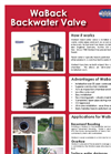 WaBack - Non-Return Valve Brochure