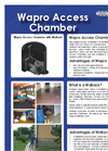 Wapro - Inspection Access Chamber with WaBack Brochure