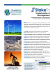 StakeTracker - Stakeholder Management Software Brochure