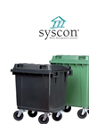 4-Wheel Mobile Garbage Bins-MGB 400L / MGB 500L