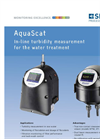 AquaScat - Model 2 HT - On-Line Turbidimeter Brochure