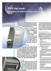 Model KSR-S - Step Screen Brochure