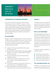 SANGEA - Reporting Tool for Oil & Gas Brochure