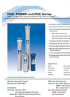 FOS, FOSBN and FOC Series - Single Cartridge Filter Housings with Bolt & Nut Closure for Liquids Brochure