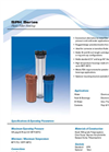 Model SPH Series - Polypropylene Plastic Filter Housings Datasheet
