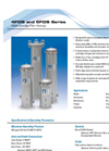 Shelco - Model 4FOS and 5FOS Series - Multi-Cartridge Housings - Specifications Sheet