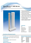 MicroSentry - Model MS Series - String Wound Filter Cartridges Specification Sheet