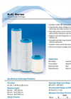 Model SJC Series - High Flow Pleated Cartridge Filters Specification Sheet