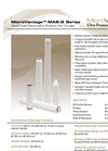MicroVantage - Model MAS-G Series - General Grade Polyethersulfone Absolute Rated Membrane Filter Cartridges - Datasheet