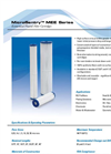 MicroSentry - Model MEE Series - Economical Pleated Filter Cartridges - Datasheet