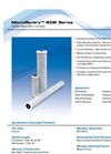 MicroSentry - Model SCB Series - Carbon Block Filter Cartridges Datasheet