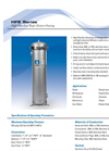 HFE Series High Flow Eco, Single Element Housing Brochure