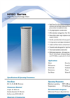 HFEC Series High Flow Eco Cartridge Filters Brochure
