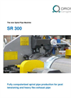Drossbach - Model SR 300 - Spiral Pipe Machine - Brochure