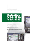 Model VSA-1215 and VSA-1217 - Vibration Spectrum Analyzers Brochure