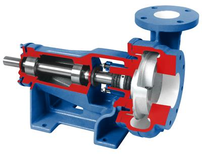 Vertiflo - Model 1400 - Industrial Horizontal End Suction Pump is Easy to Install and Maintain