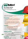 Bullard - Model Classic Series - Hard Hats - Brochure