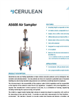 Cerulean - Model AS600 - Industrial High Volume Air Sampler Datasheet