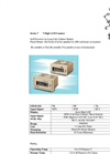 Model CH-7 - Panel Mount Battery Powered Remote LCD Counter Datasheet