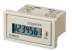 Model CH-7 - Panel Mount Battery Powered Remote LCD Counter