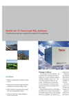 Model 42i TL NO-NO2-NOx Analyzer Data Sheet (PDF 113 KB)