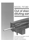 Model 797.380 Out of Stack Diluting Sample Brochure (PDF 348 KB)