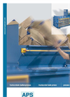 Horizontal Bale Presses - APS Brochures With Technical Data (PDF 265 KB)