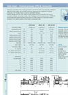 Channel Presses - APK - B Technical Data Horizontal (PDF 104 KB)