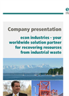 Econ Industries Company Profile Brochure