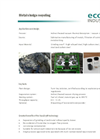Metal and Grinding Sludge Recycling System Brochure