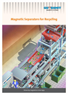 Magnets for Recycling & Sorting - suspended magnets