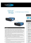 FreeWare - Cellular Bridge - 2.4 GHz Radio Systems Cell Modem - Brochure