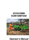 EcoCombi - Model 150 - Wood Chipper and Green Waste Shredder Manual