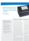 Methane Carbon Isotope Analyzer Datasheet