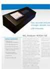 NO2 Analyzer: NOOA-13D Datasheet