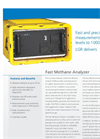 Fast Methane Analyzer Datasheet