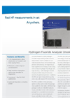 Hydrogen Fluoride Analyzer Model HFA-23 Brochure
