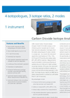 Carbon Dioxide Isotope Analyzer Brochure