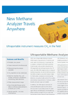 LGR - Ultraportable Methane Analyzer (CH4, H2O) (UMA) Data Sheet